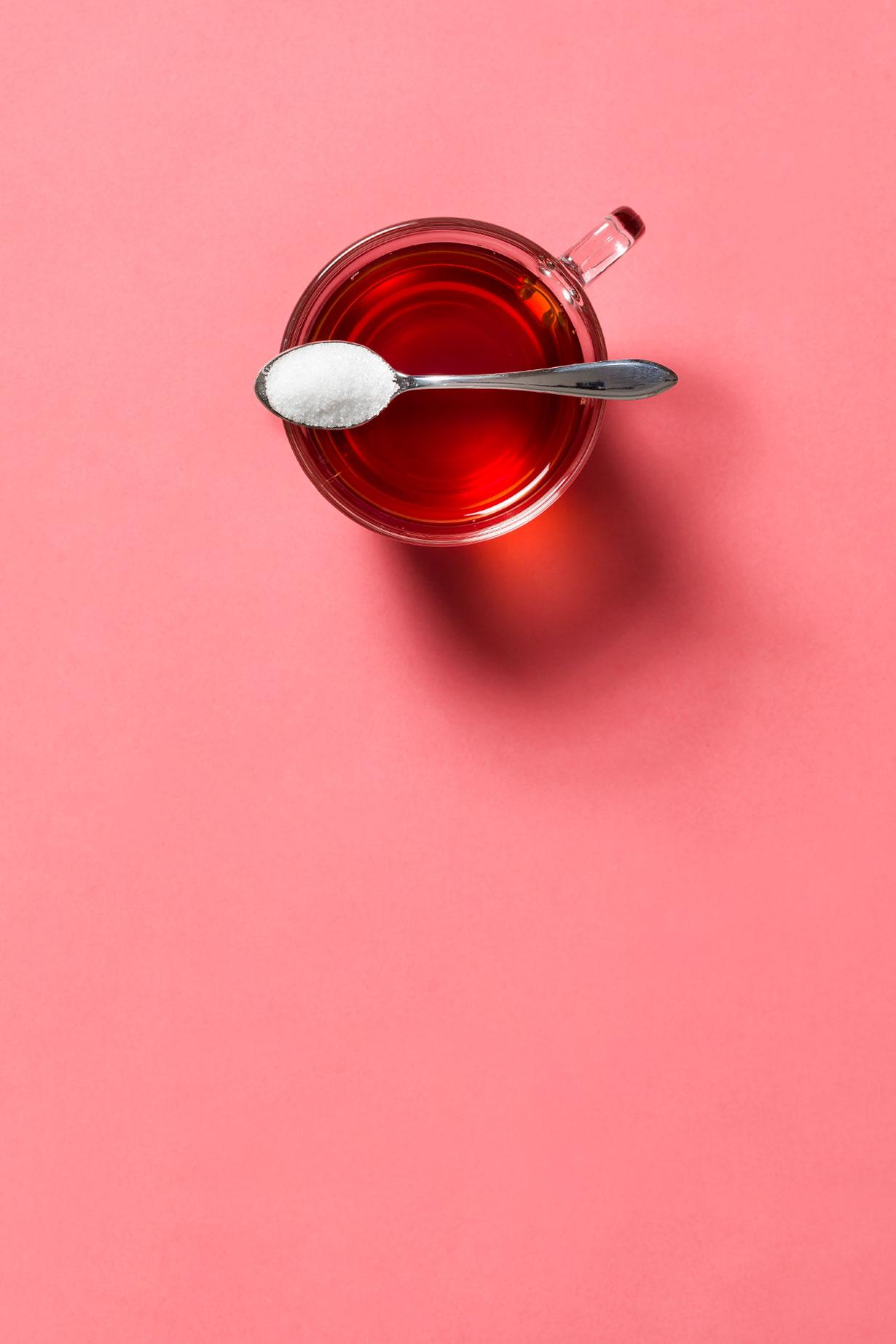 Tee mit Zucker/Honig