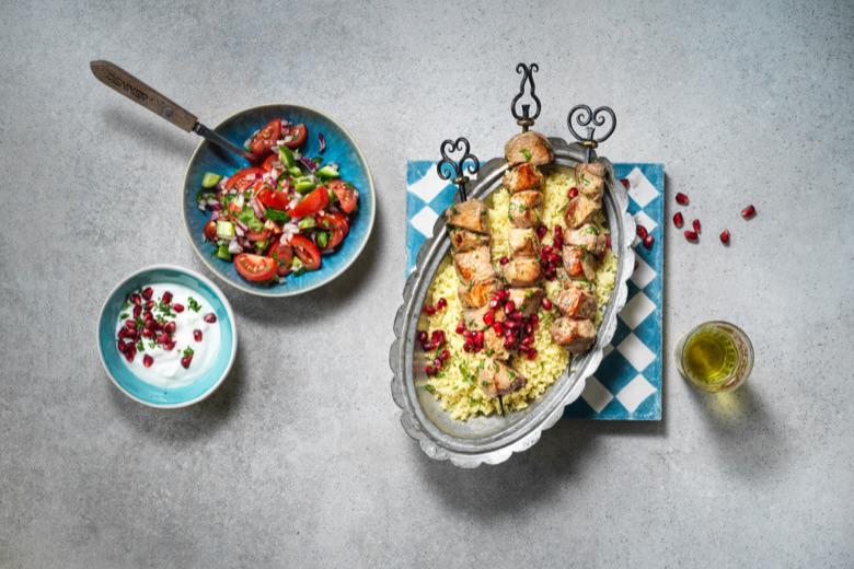 orientalische Speisen