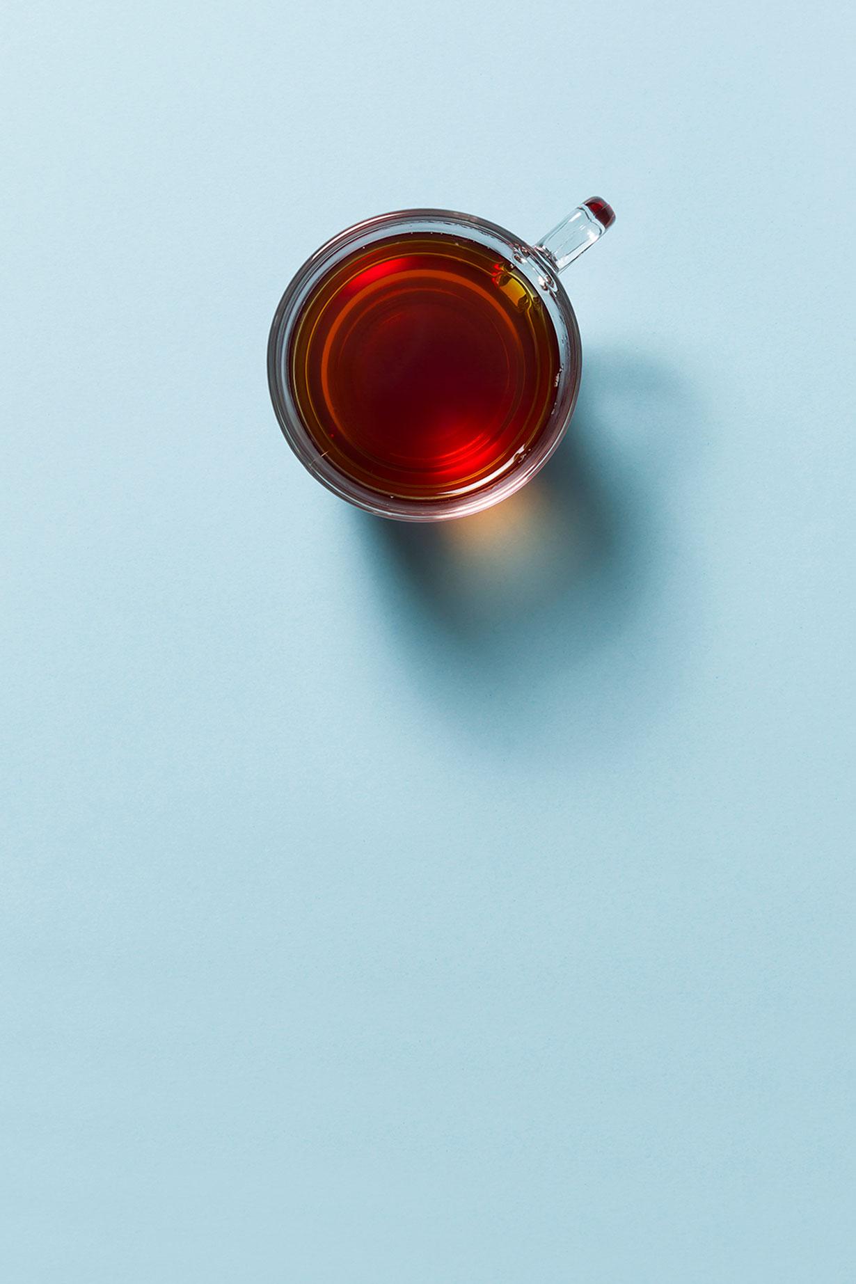 thé sans sucre/miel